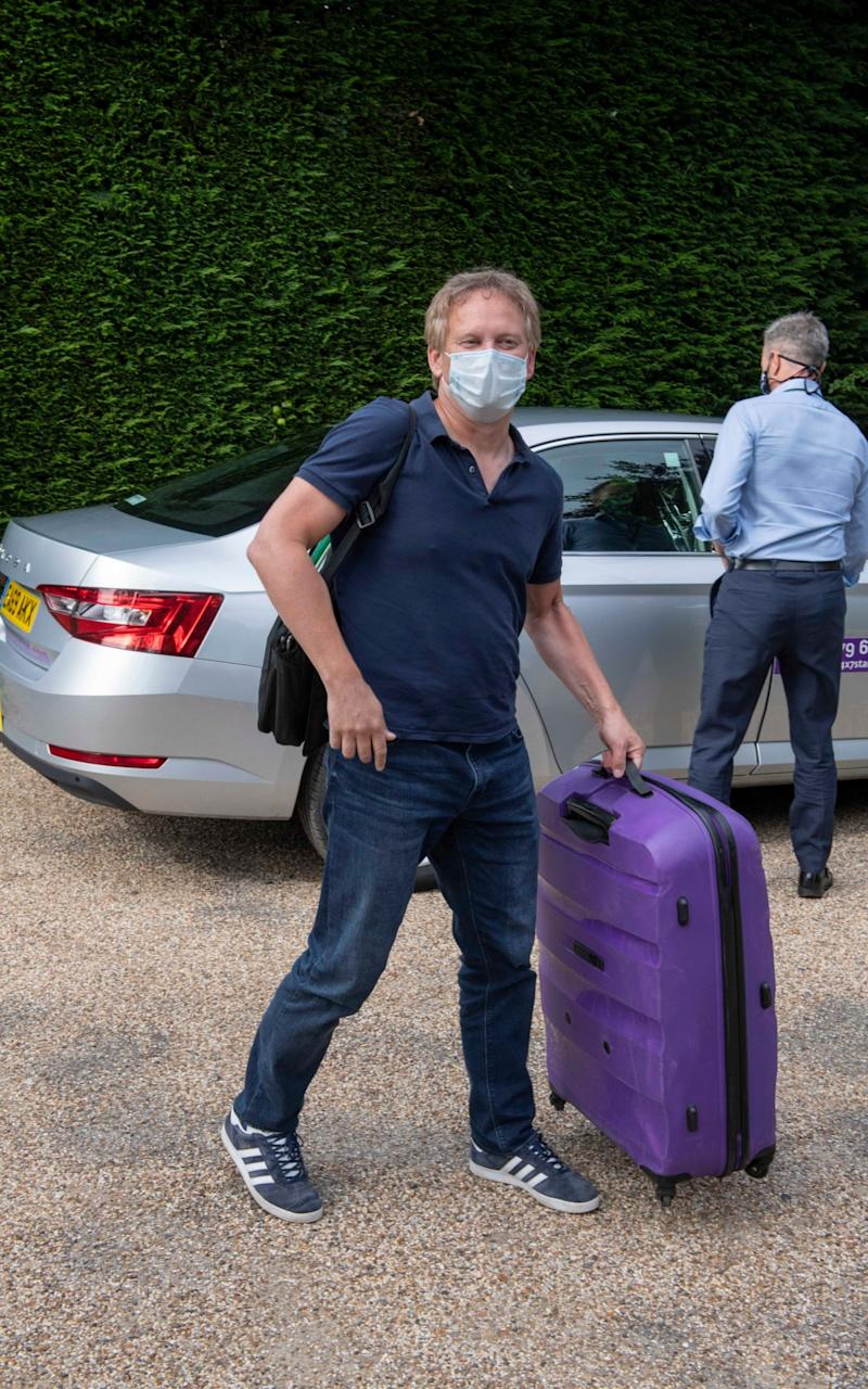 Grant Shapps, Secretary of State for Transport, was himself forced to quarantine after he went on holiday to Spain - JULIAN SIMMONDS/JULIAN SIMMONDS