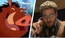 <p>You can't have Timon without Pumbaa… and in one of the greatest casting moves of all time, he's going to be played by actor and comedian, Seth Rogen. Best known for his role in 'The 40-Year-Old Virgin', he's starred in numerous American comedy films, and currently writes the hit TV show 'Preacher'. He also famously rubbed North Korea up the wrong way with his political satire, 'The Interview' and voiced a sentient sausage struggling for survival in 'Sausage Party'. Yeah. </p>