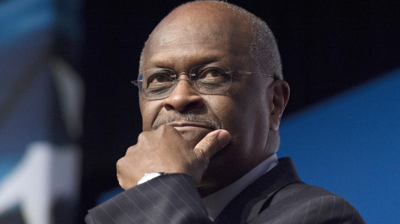 Trump Says He Won't Nominate Herman Cain For Federal Reserve Board