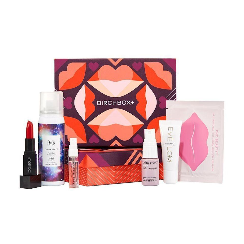 "<p><strong>Birchbox</strong></p><p>birchbox.com</p><p><strong>$45.00</strong></p><p><a href=""https://go.redirectingat.com?id=74968X1596630&url=https%3A%2F%2Fwww.birchbox.com%2Fgift%2Fhome&sref=https%3A%2F%2Fwww.bestproducts.com%2Fbeauty%2Fg154%2Ftop-gifts-for-her%2F"" rel=""nofollow noopener"" target=""_blank"" data-ylk=""slk:Shop Now"" class=""link rapid-noclick-resp"">Shop Now</a></p><p>While there are tons of <a href=""http://www.bestproducts.com/beauty/g411/best-beauty-subscription-boxes/"" rel=""nofollow noopener"" target=""_blank"" data-ylk=""slk:subscription boxes"" class=""link rapid-noclick-resp"">subscription boxes</a> out there, Birchbox is definitely among the best. This service was made by women for women, and it features five trial-sized beauty products — from cult classics to emerging brands — which are delivered to her door each month.</p>"