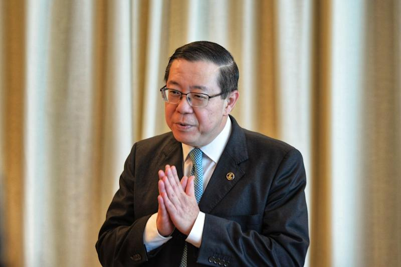 Finance Minister Lim Guan Eng speaks during a press conference at the Housing and Local Government Ministry in Putrajaya August 22, 2019. — Picture by Shafwan Zaidon