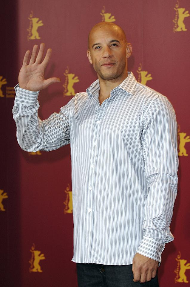 "<a href=""http://movies.yahoo.com/movie/contributor/1800020716"">Vin Diesel</a> at the 56th Annual Berlin Film Festival photocall for <a href=""http://movies.yahoo.com/movie/1808748798/info"">Find Me Guilty</a> - 02/16/2006"
