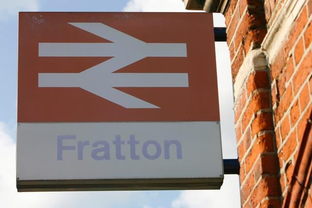 A fading British Rail sign at Fratton station in Portsmouth, Hampshire (Chris Ison/PA)