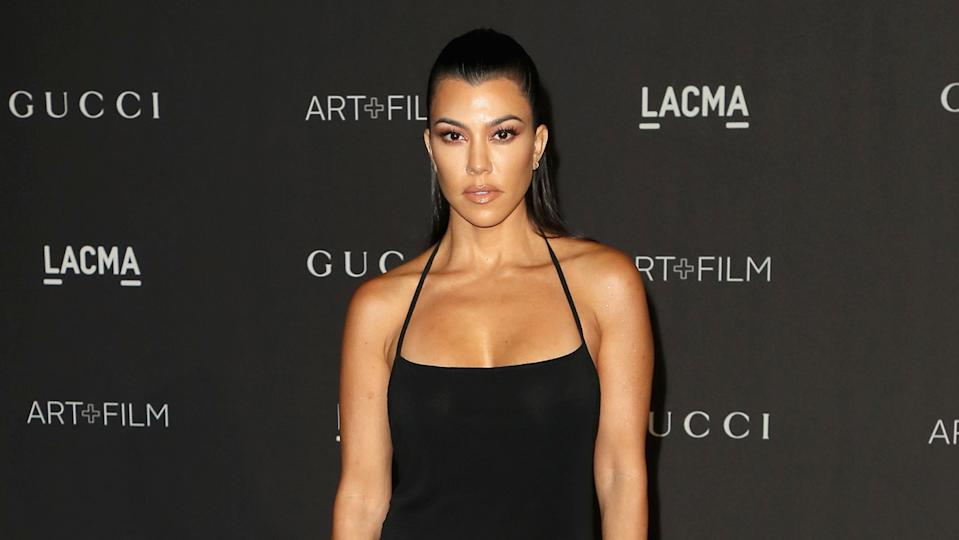 Kourtney Kardashian said she had a 'positive time' on the keto diet (Image: Getty Images)