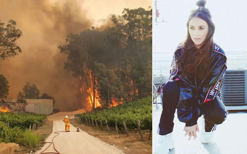 Amy Shark's Christmas plea (Photo: Eden Hills Country Fire Service)