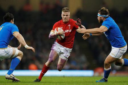 Rugby Union - Six Nations Championship - Wales vs Italy - Principality Stadium, Cardiff, Britain - March 11, 2018 Wales' Gareth Anscombe in action Action Images via Reuters/Paul Childs
