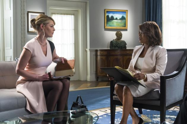 Heigl and Woodard on 'State of Affairs' (NBC)