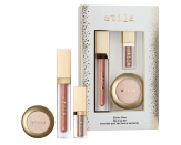 """<p><strong>Stila</strong></p><p>Ulta</p><p><strong>$32.00</strong></p><p><a href=""""https://go.redirectingat.com?id=74968X1596630&url=https%3A%2F%2Fwww.ulta.com%2Fkitten-bliss-eye-lip-set%3FproductId%3Dpimprod2018053&sref=https%3A%2F%2Fwww.seventeen.com%2Fbeauty%2Fmakeup-skincare%2Fadvice%2Fg2056%2Fbeauty-gifts%2F"""" rel=""""nofollow noopener"""" target=""""_blank"""" data-ylk=""""slk:SHOP NOW"""" class=""""link rapid-noclick-resp"""">SHOP NOW</a></p><p>Amp up your holiday lewks with these glittery long-wearing liquid eyeshadows and glosses. </p>"""