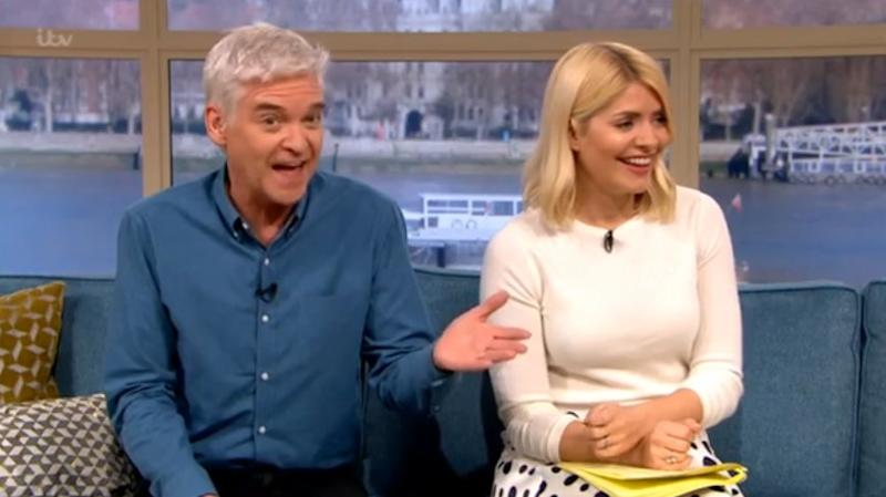 Telling off: Schofield explained to Quatro that she'd made a fuss about nothing (ITV / This Morning)