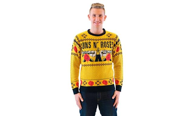 "<p>You say you want your Christmas sweater to honor great music, and feature an extra helping of ugly? This one's mustard yellow. <strong><a href=""https://jet.com/product/detail/8d9f8d157120440da72601138b0d2407?jcmp=pla:ggl:nj_dur_gen_mens_clothing_shoes_accessories_a2:mens_clothing_shoes_accessories_mens_clothing_mens_sweaters_a2:na:PLA_791096394_48083769504_pla-294065858153_c:na:na:na:2PLA15&code=PLA15&pid=kenshoo_int&c=791096394&is_retargeting=true&clickid=874feb70-114b-43b8-98a2-caa504585eed&gclid=EAIaIQobChMIkryEq-LS1wIVF8JkCh0s2w_OEAkYDCABEgILRvD_BwE"" rel=""nofollow noopener"" target=""_blank"" data-ylk=""slk:Buy here"" class=""link rapid-noclick-resp"">Buy here</a></strong> </p>"