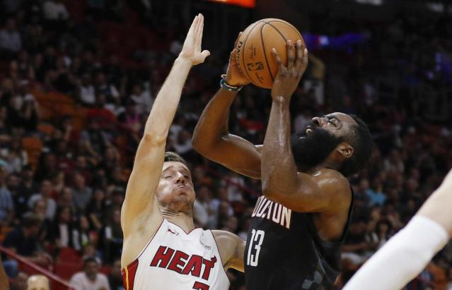 Mike D'Antoni says James Harden could average 'close to 40'