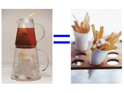 """<div class=""""caption-credit""""> Photo by: Gourmet/Yanes, Romulo A</div><div class=""""caption-title""""></div><b>A large sweet iced tea (291 cals) <i>might as well</i> be a small order of fries (271 cals)</b> <br> <br> Calorie giveaway? Anything that has sweet in its name. Plus, the extra sugar makes insulin levels spike, says Blake, so """"you'll be hungrier sooner than if you just ate the fries."""""""