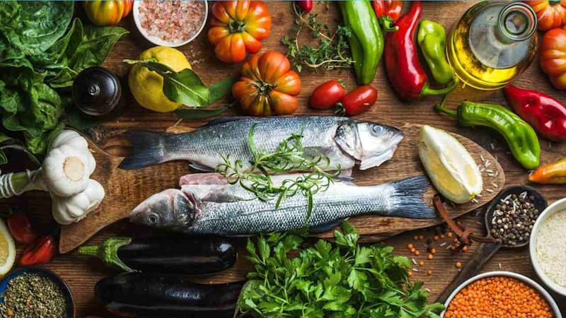 """A Mediterranean diet. Or as its could soon be known, """"the diet to save the world""""."""