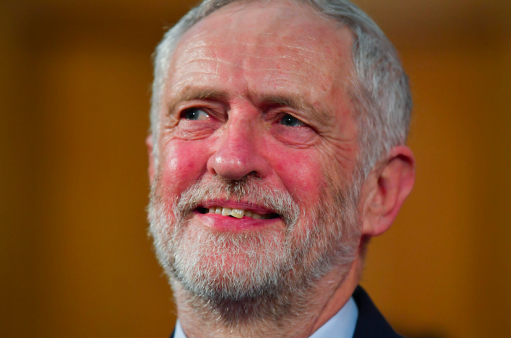 Jeremy Corbyn previously dodged answering whether Labour would be in favour of a second Brexit referendum (Rex)