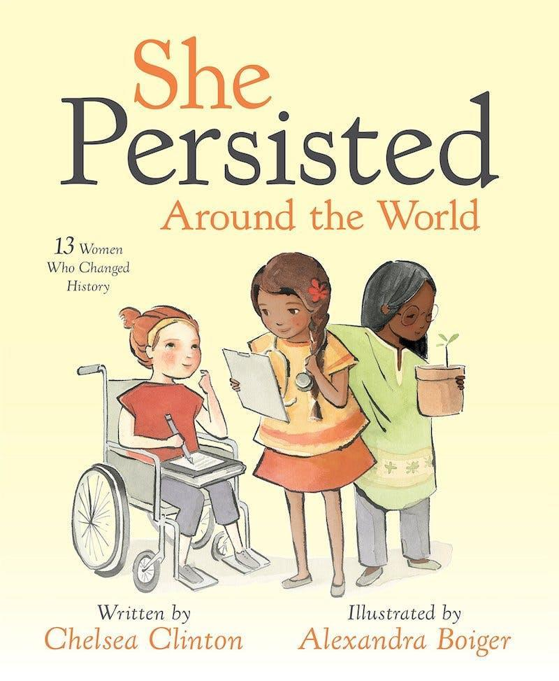 Book cover for She Persisted Around the World