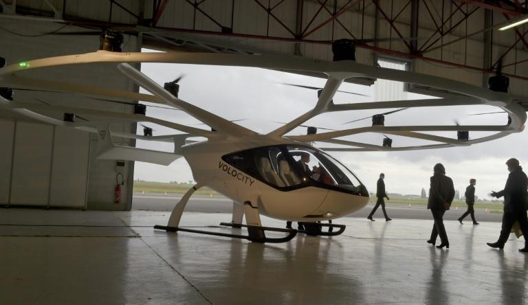 Volocopter-Flugtaxi in Frankreich