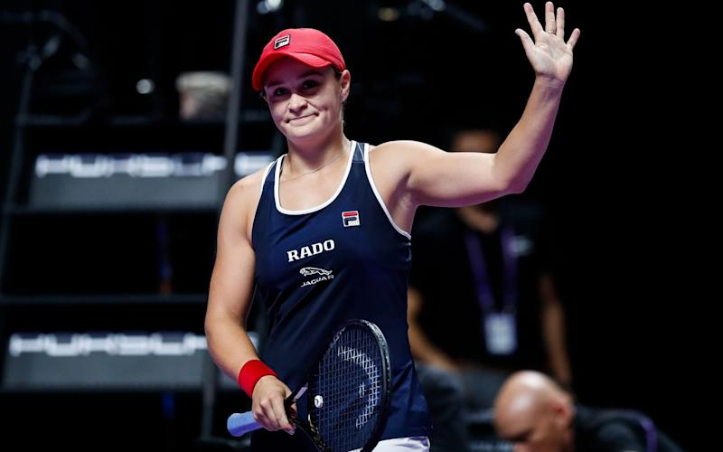 Ash Barty said it was a difficult decision to pull out of participating at the US Open - GETTY IMAGES