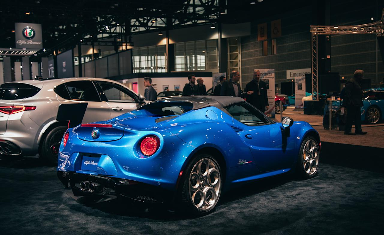 "<p>If you were shocked to hear that <a rel=""nofollow"" href=""https://www.caranddriver.com/alfa-romeo/4c"">the Alfa Romeo 4C</a> was still in production for the 2019 model year (albeit only in the Spider body style), it's surely even more shocking to learn that it will continue through the 2020 model year. At the Chicago auto show, Alfa has unveiled a new limited edition of the 4C Spider that is one of the most truly limited limited editions we have encountered in a long time. It's called the 4C Spider Italia, and Alfa will build just 15 examples.</p>"