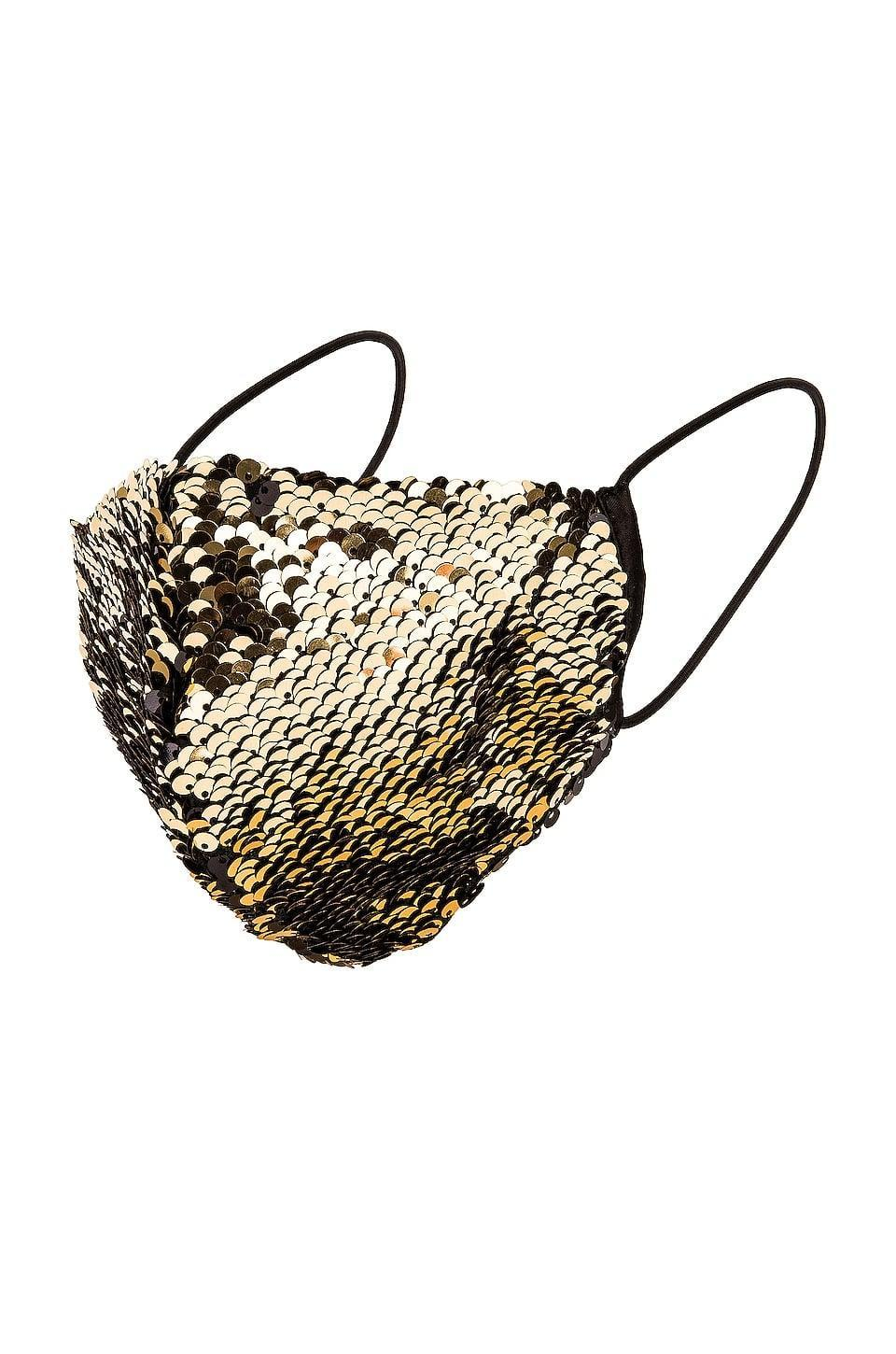 <p><span>Eugenia Kim Sculpted Sequin Face Mask in Black</span> ($22)</p>