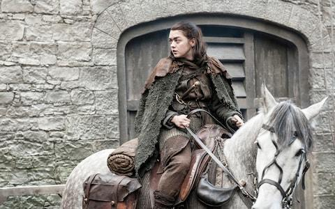 Maisie Williams as Arya Stark - Credit: HBO