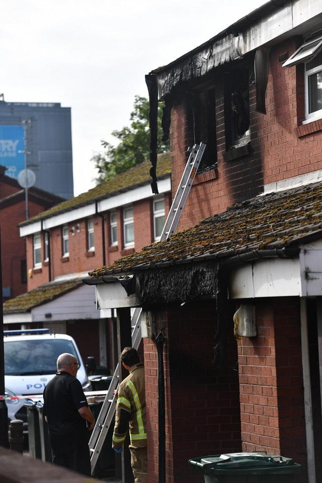 Coventry flat fire