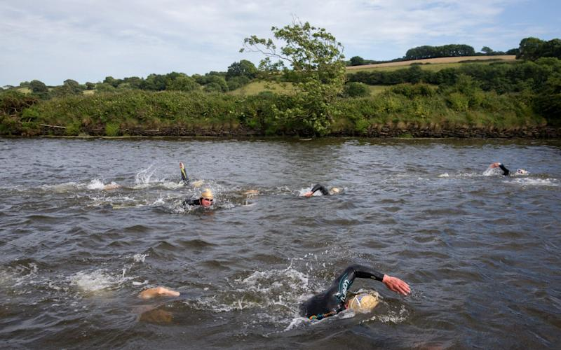 Wild swimmers have voiced disquiet at British Triathlon over safety advice - Getty Images Europe