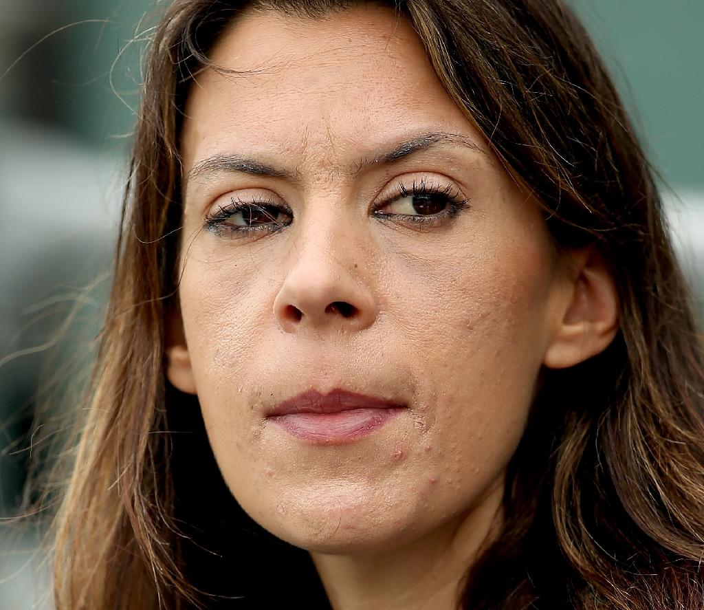 Marion Bartoli, pictured on March 24, 2016, was barred from playing in an invitational event at Wimbledon after doctors expressed fears over her health (AFP Photo/Matthew Stockman)