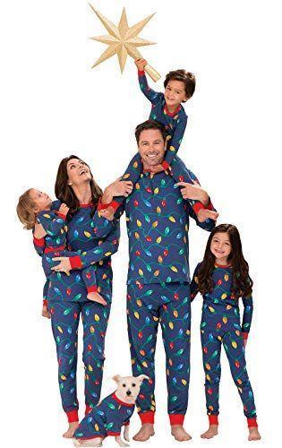 """<p><strong>PajamaGram</strong></p><p>amazon.com</p><p><strong>$49.99</strong></p><p><a href=""""https://www.amazon.com/dp/B00Q5PU7ZC?tag=syn-yahoo-20&ascsubtag=%5Bartid%7C10050.g.4956%5Bsrc%7Cyahoo-us"""" rel=""""nofollow noopener"""" target=""""_blank"""" data-ylk=""""slk:Shop Now"""" class=""""link rapid-noclick-resp"""">Shop Now</a></p><p>Light up Christmas Day in these festive outfits! We're particularly partial to the red wrist and ankle detailing.</p>"""