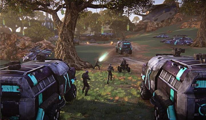 best free to play games planetside 2