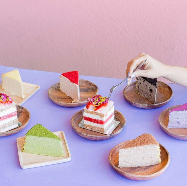 PHOTO: Cakes from Dessert Goals festival in Los Angeles. (Sarah Winona Photography)