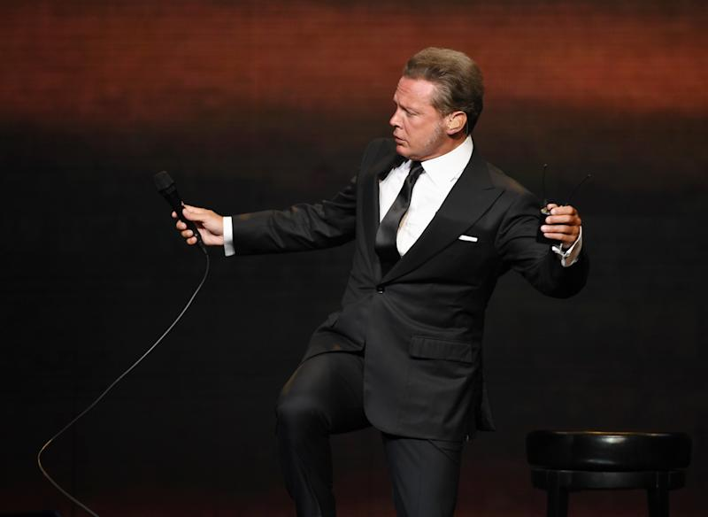 Luis Miguel. Foto: Ethan Miller/Getty Images.