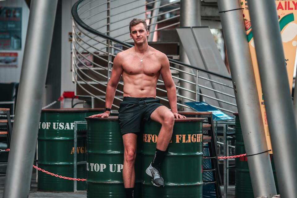 Singapore #Fitspo of the Week: Florian Deliers.