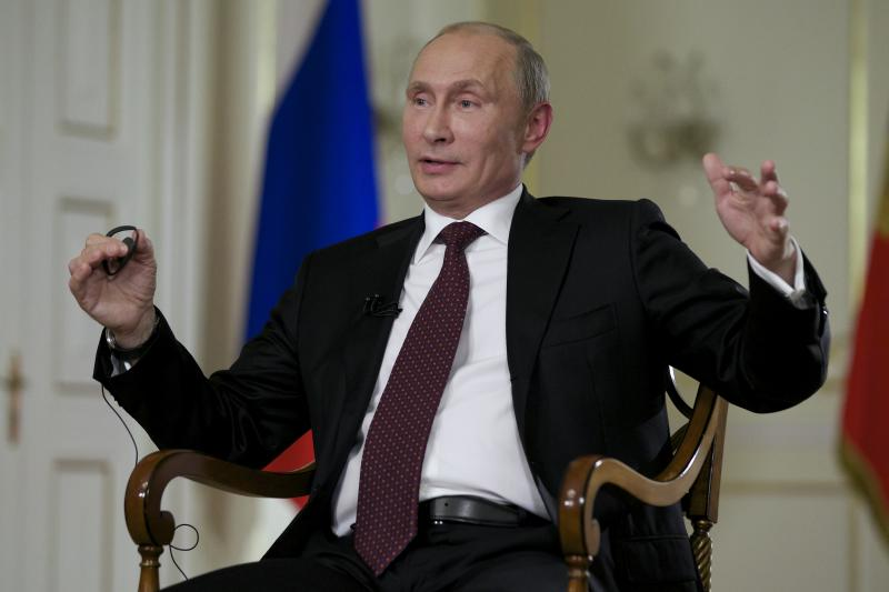 AP Interview: Putin warns West on Syria action