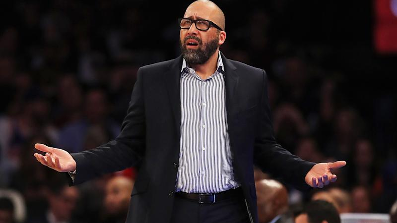 David Fizdale, pictured here in his time with the New York Knicks.