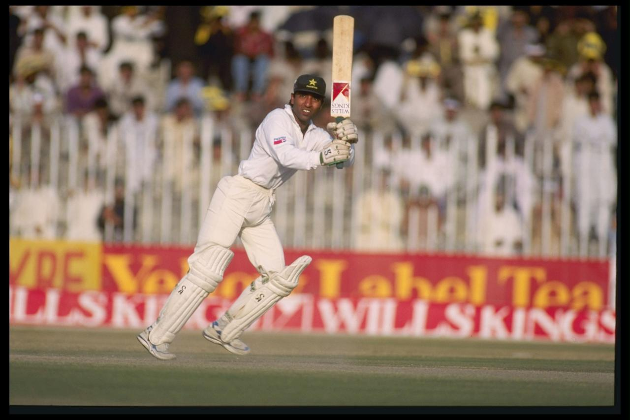 Oct 1994:  Pakistan opener Saeed Anwar pictured during the 1994 Australia tour to Pakistan.                                               Mandatory Credit: Shaun Botterill/Allsport UK