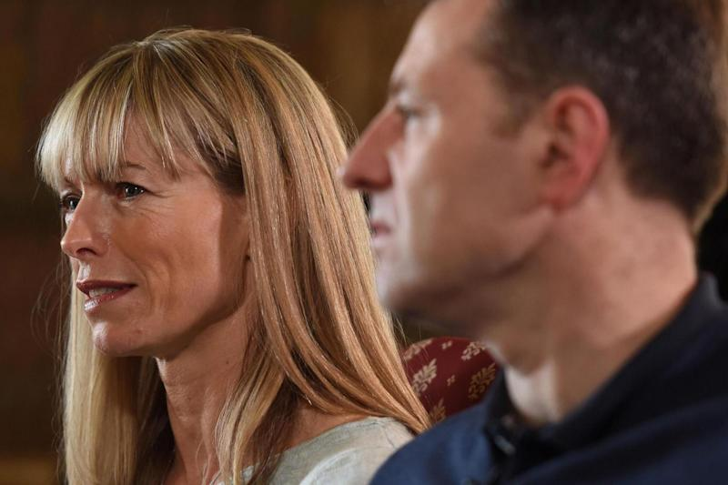 The couple speaking during an interview with the BBC's Fiona Bruce (PA)