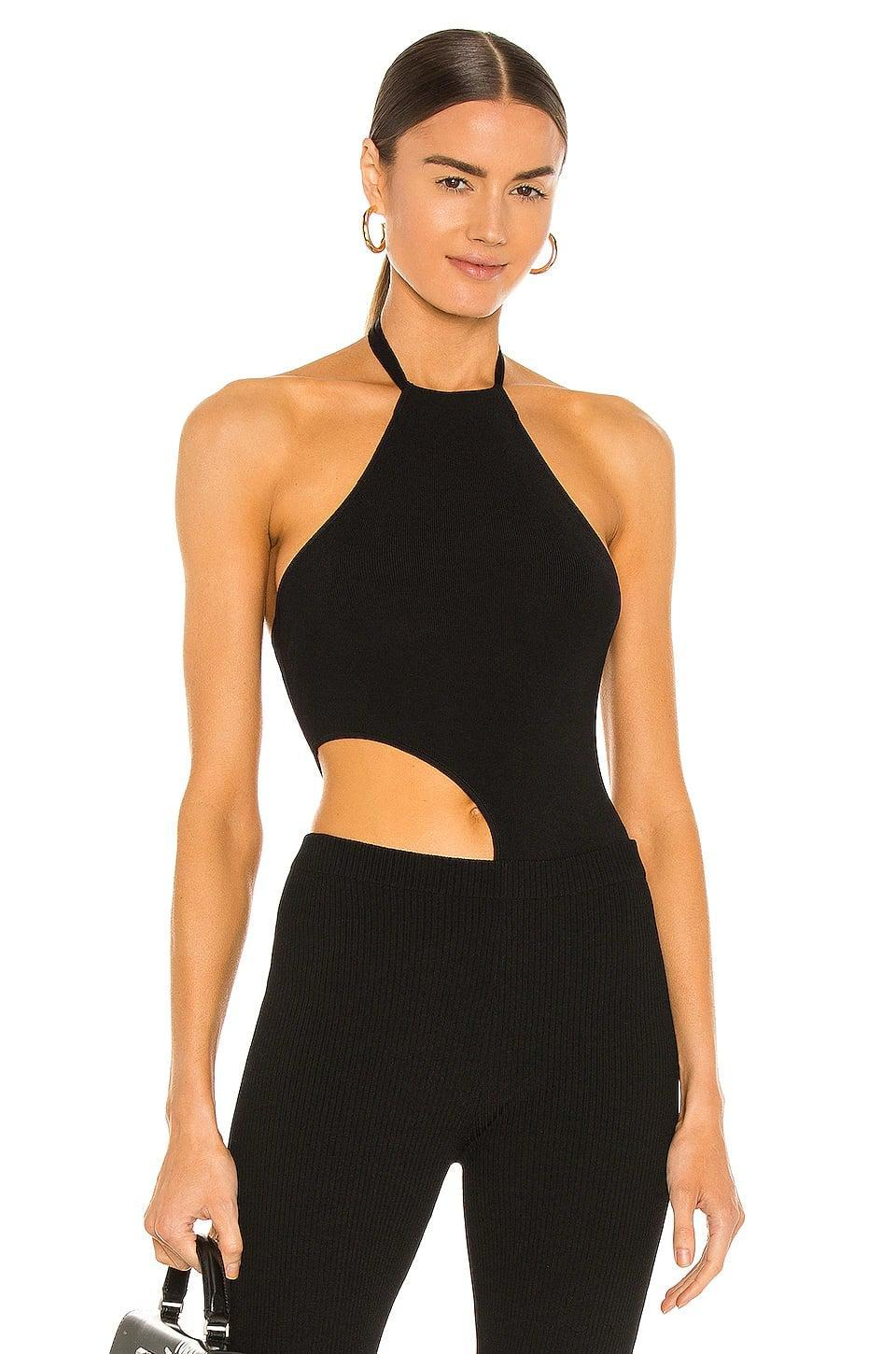 <p>A bodysuit is a night out essential. This <span>Aya Muse Jade Cutout Bodysuit</span> ($201, originally $244) has cool cutouts, and looks great with jeans, black pants, or even a miniskirt.</p>