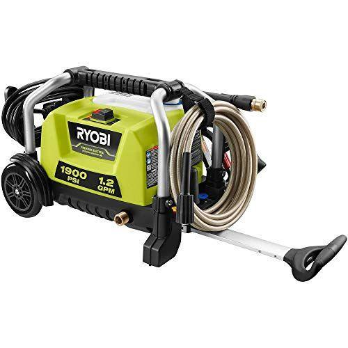 """<p><strong>RYOBI</strong></p><p>amazon.com</p><p><strong>$186.09</strong></p><p><a href=""""https://www.amazon.com/dp/B0895JJ9Z8?tag=syn-yahoo-20&ascsubtag=%5Bartid%7C10055.g.33460230%5Bsrc%7Cyahoo-us"""" rel=""""nofollow noopener"""" target=""""_blank"""" data-ylk=""""slk:Shop Now"""" class=""""link rapid-noclick-resp"""">Shop Now</a></p><p>The 1,900 PSI electric pressure washer offers the best combination of value and performance. With its modest 1.2 GPM, it's<strong> best for smaller jobs, like clearing dirt and mildew from your deck. </strong>The telescoping handle and lightweight, 22.7-pound construction make for easy handling. Our testers also like the compact design and vertical storage, good if space in the shed or garage for outdoor power equipment is limited. </p>"""