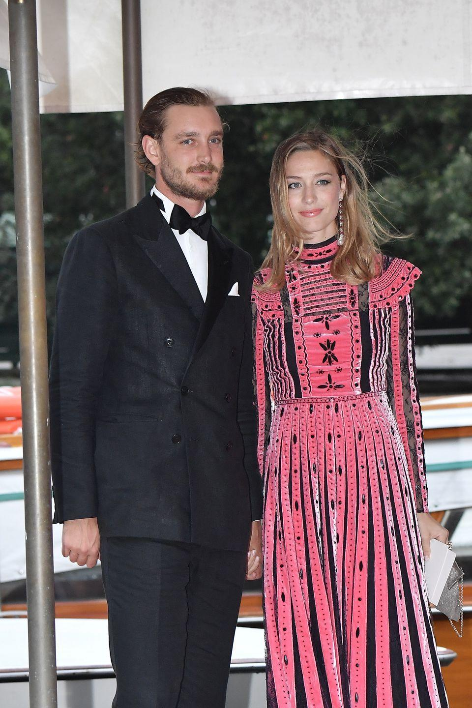 <p>Grace Kelly's grandson is currently the seventh in line to the Monegasque throne. In 2015, Pierre tied the knot with journalist Beatrice Borromeo, who gave birth to the couple's first child, a son named Stefano (after Pierre's late father), in early 2017.</p>