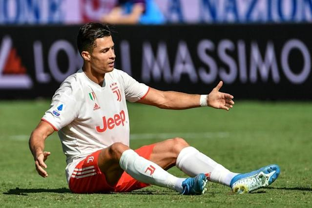 Juventus forward Cristiano Ronaldo says he was embarrassed by rape allegations (AFP Photo/Vincenzo PINTO )