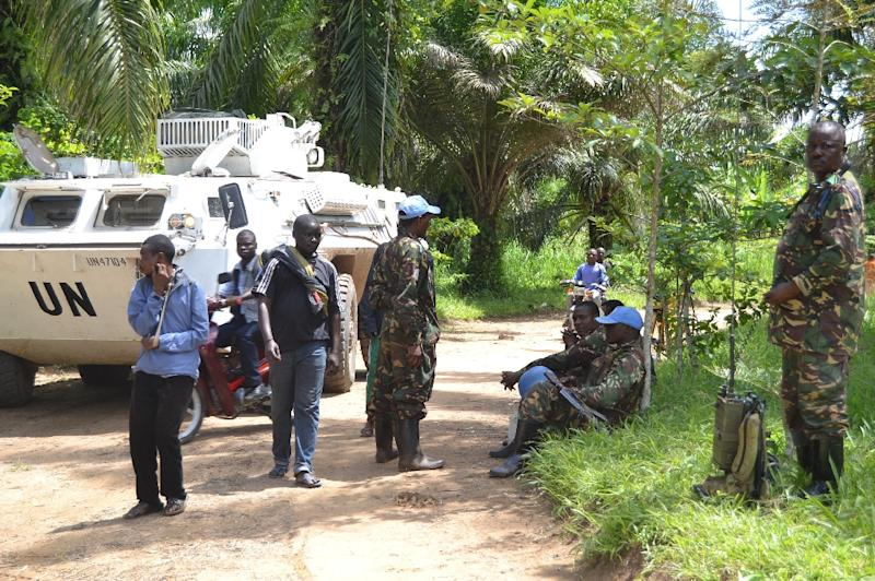 The UN last year had announced plans to root out the FDLR but these went awry as differences emerged between the 20,000-strong MONUSCO force (pictured) and Kinshasa