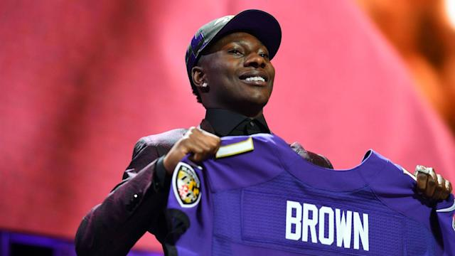 Start your Saturday with the latest Baltimore Ravens news including an injury update on the Ravens' first-round pick.