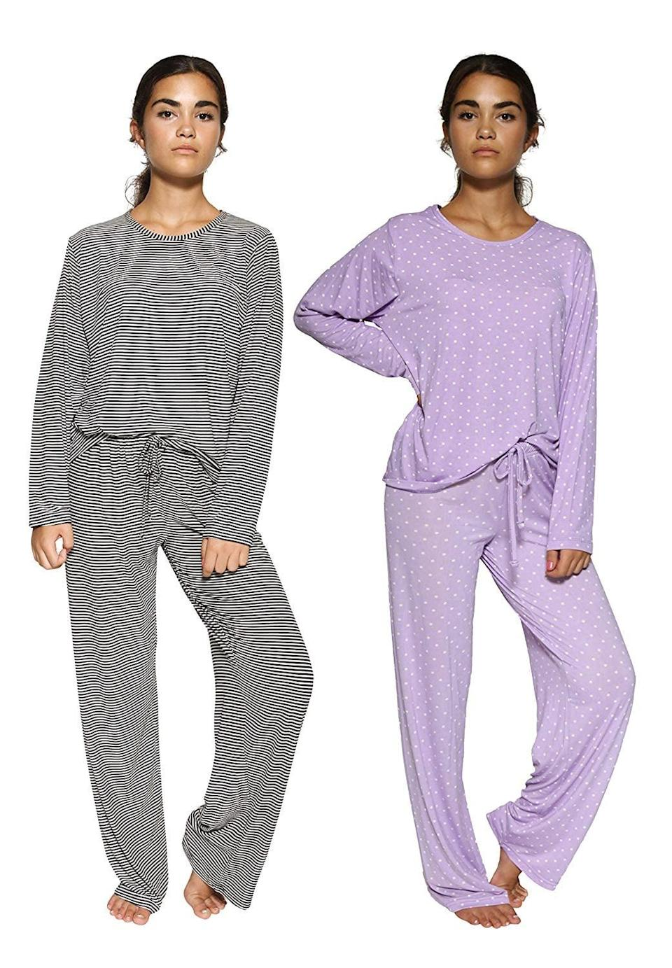 <p>This <span>2-Pack Pajama Set</span> ($35) is a crazy-good deal.</p>