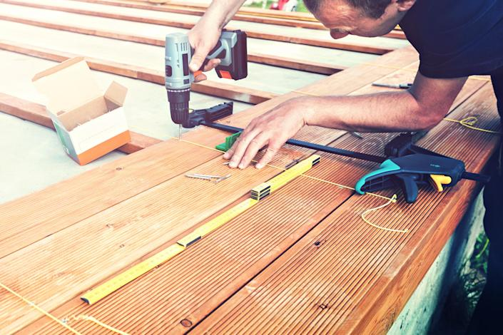 Lumber shortages are derailing some home improvement plans
