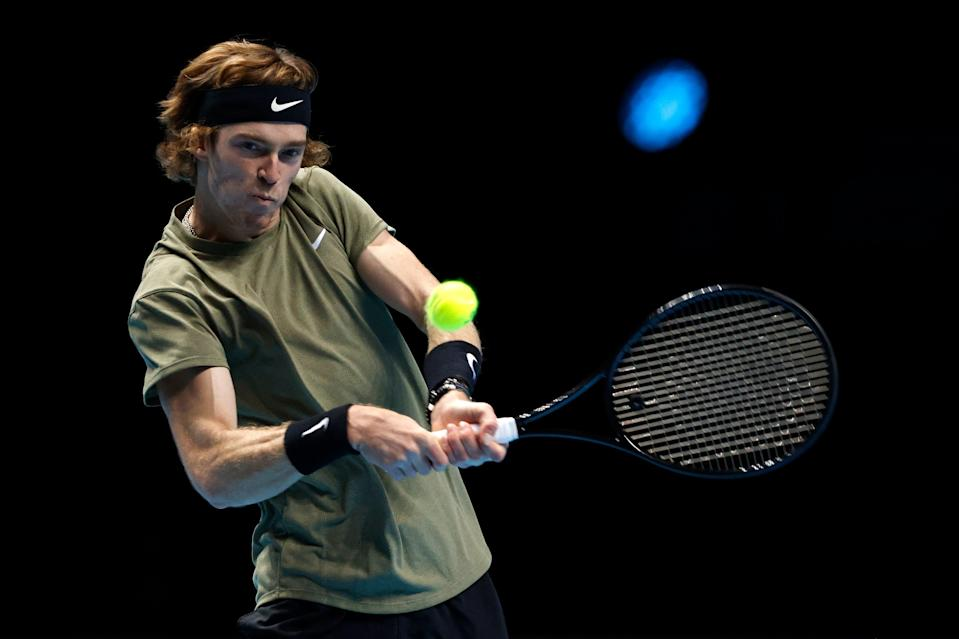 <p>Rublev was in fine form</p> (Getty Images)