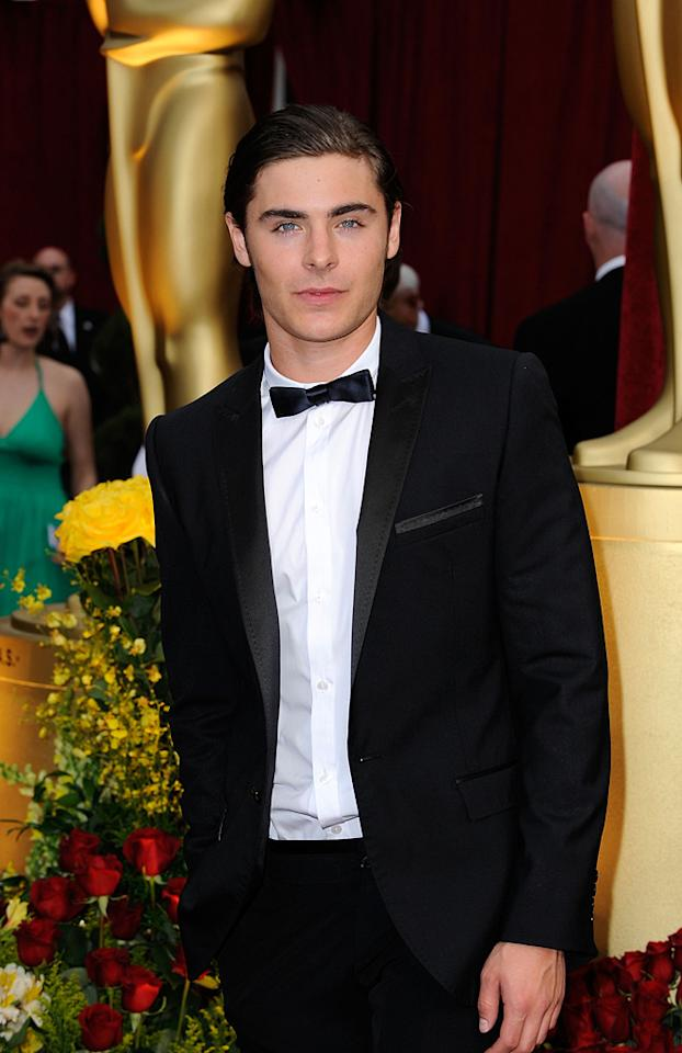 Zack Efron at the 81st Annual Academy Awards - Feb. 22, 2009