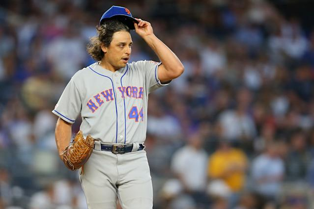 Jason Vargas was reportedly fined $10,000 by the Mets. (Getty Images)