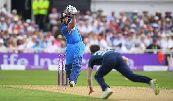 Rohit Sharma needs to hit just three more sixes to enter the top five