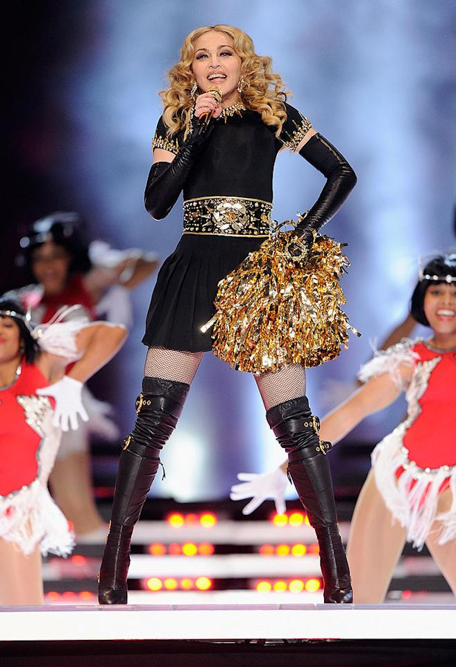 "<p class=""MsoNoSpacing"">Madonna has been the Queen of Pop for three decades, but she certainly doesn't look like it – or act like it. Ever since she split from her latest husband Guy Ritchie in 2008, the Material Girl has dated a string of young men, whose ages match the way she feels inside. ""We live in an ageist society, connected to women,"" the 53-year-old has said. ""I think women in an unconscious way are valued for their youth, youthful beauty, not so much for their wisdom and experience. Hopefully, we're going to change all that."" But does she rely on Botox or plastic surgery to stay eternally youthful? Madonna's not saying.</p>"