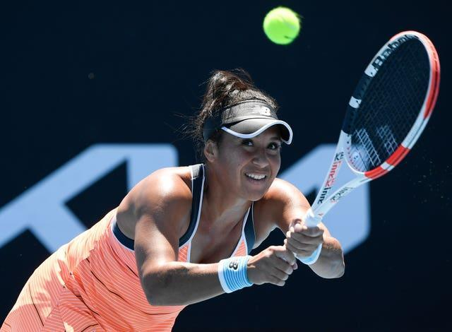 Heather Watson shrugged off her quarantine nightmare in Melbourne (Andy Brownbill/AP)